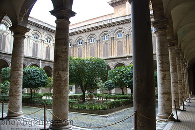 Courtyard in Rome
