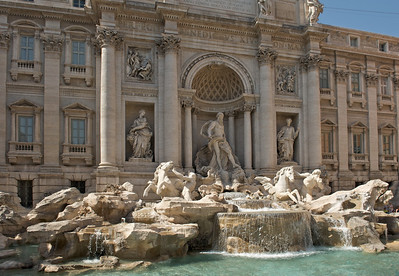 Trevi Fountain, 1762 AD