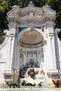 The Fontana del Prigione in thetrastevre neighborhood in Rome, Italy