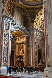 Archway within the Basilica