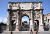 Arch of Constantine near the Colosseum Rome