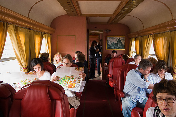 Seven Seas private train from Civitavechia to Rome