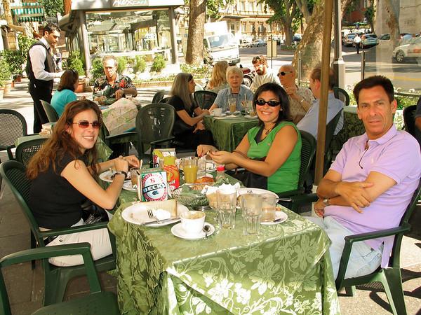 Breakfast on the Via Veneto