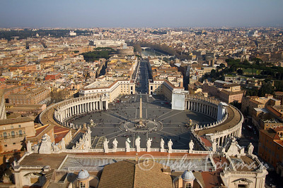 View over Saint Peter's Square