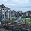 Blue Hour at the Roman Forum
