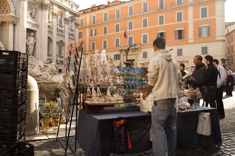 Trevi Fountain Tourist Trap