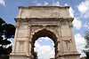 Arch of Titus at the Forum Rome