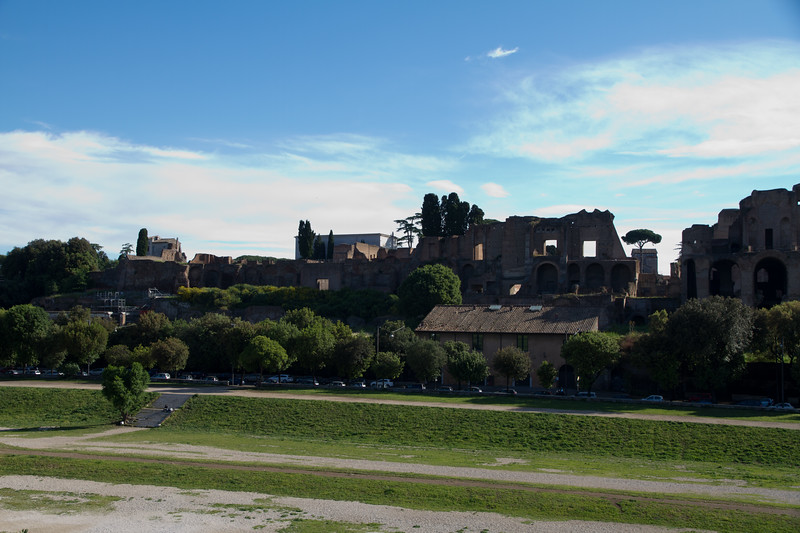Another view of the ruins of Circus Maximus