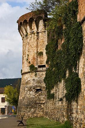 Exterior walls of San Gimignano