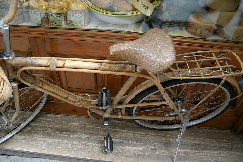 Bamboo Bicycle in Siena