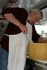 Cutting the Cheese in Siena