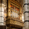 Organ of the Siena cathedral
