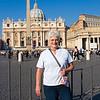 Rita at San Pietro's Basilica 1