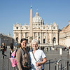mon and monica in saint peters square
