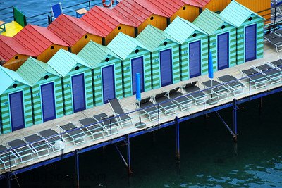 Colorful Bath Houses