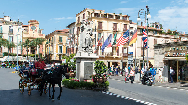 The center of Sorrento.