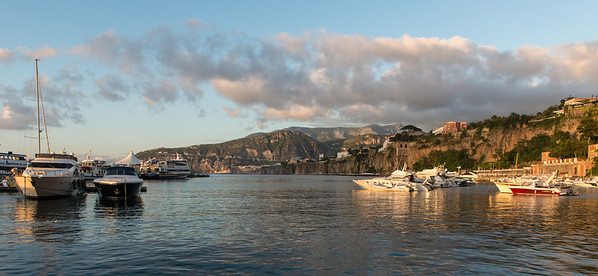 Sorrento harbor.