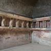 Telemons on Walls of Tepidarium of Forum Baths, Pompeii