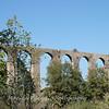 Roman aqueduct on the way to Pitigliano.