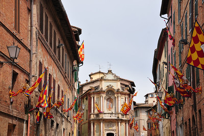 Siena during Palio time