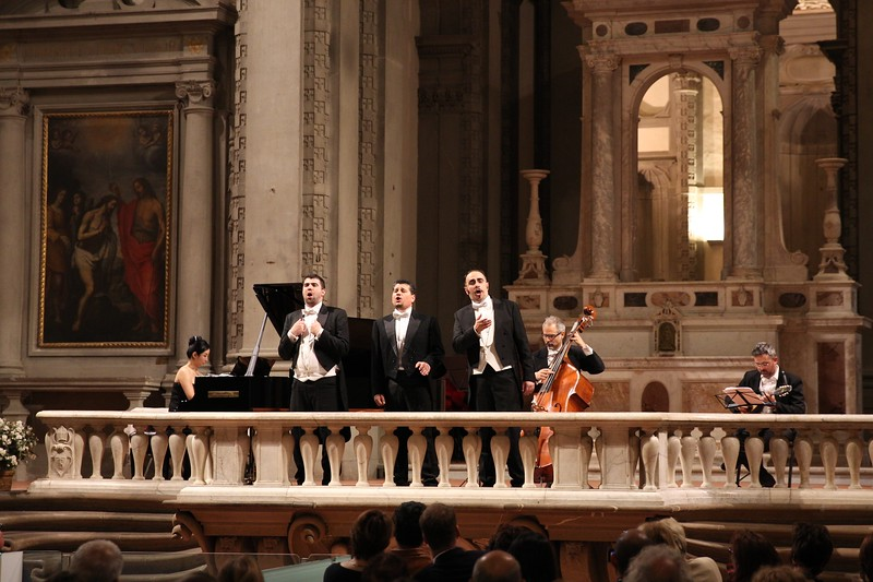 The 3 Tenors in concert at Auditorium St Stefano