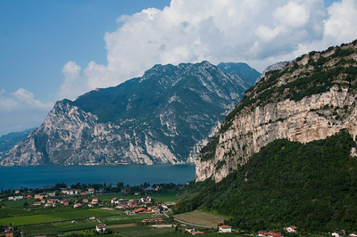 A long weekend of sport climbing and relaxing at Arco near Lago di Garda