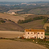 Tuscan farmhouses - late evening light