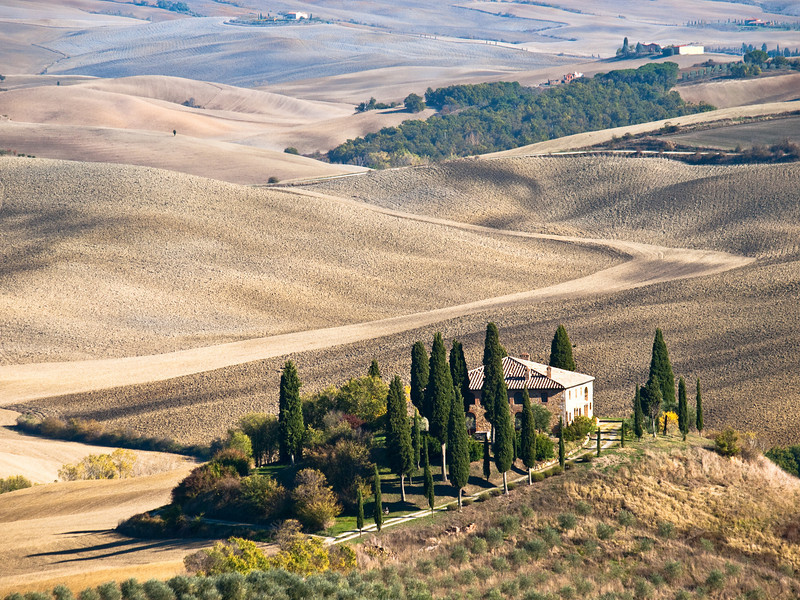 San Quirico d'Orcia on the way to Pienza (The Gladiator's home????)