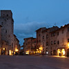 San Gimignano October evening - a perfect time to avoid the tourists!