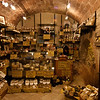 San Gimignano  A small shop on your left on the way down Via san Matteo, so welcoming....Try the hard sheep's cheeses - wonderful!