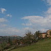 San Gimignano - a room with a view - ours looked out over the valley and San Gimignano. (Pietrafitta Podere La Costa - a lovely place to stay)