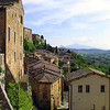Town of Montepulciano, where I spent a week in a lovely apartment.