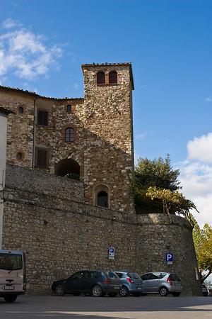 The Rocca in Radda in Chianti