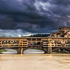 Storm Clouds Over Ponte Vecchio