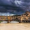 Storm Clouds Over Ponte Vecchio