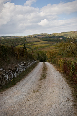 Chianti country road