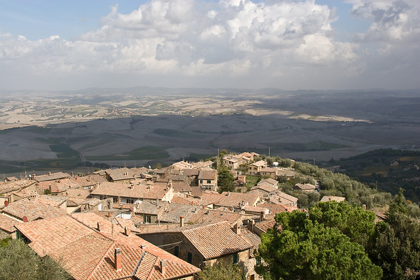 Tuscany as viewed from Montalcino