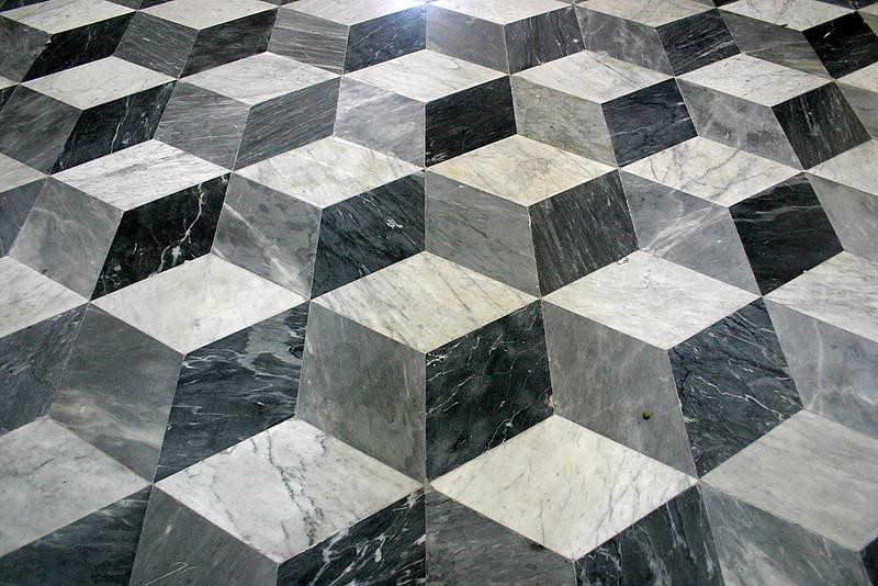 Flat Church Marble Floor