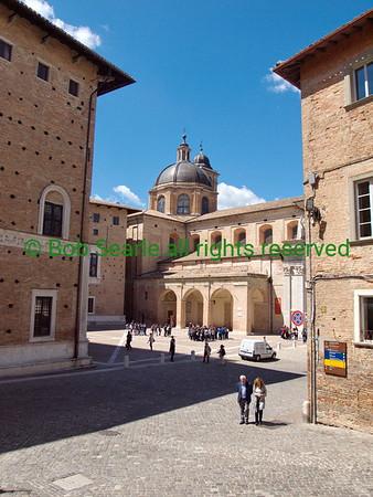 Urbino  Italy May 2014