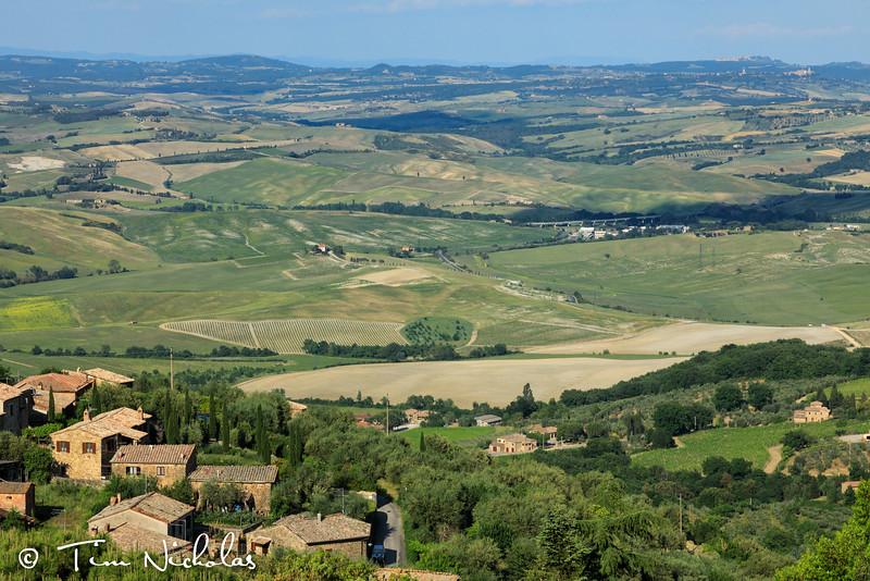 Montalcino countryside