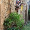 Montalcino, hanging out the washing