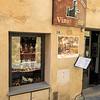 Montalcino: one of many wine shops