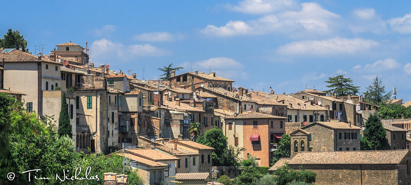 Montalcino rooftops