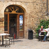 Montalcino: old timers relaxing