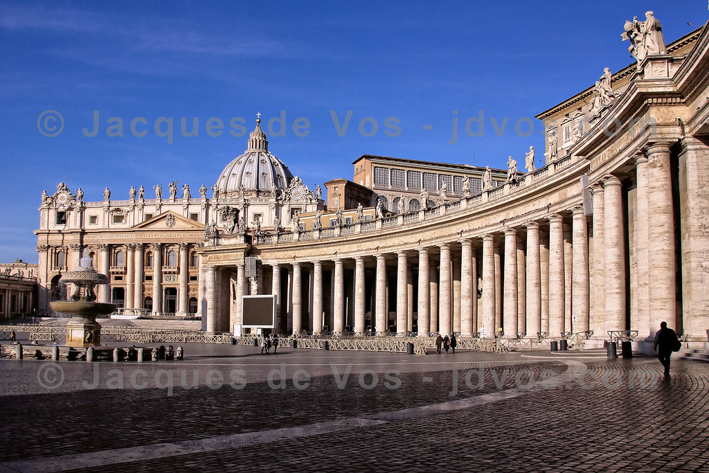 Saint Peter's Square<br /> <br /> Vatican City - Rome, Italy
