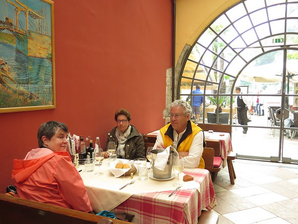 Lunch with Ann Riva del Garda