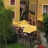 restaurant errace by the river  -   Bassano del Grappa