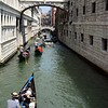 Bridge of Sighs, with Gondolas, Venice, Italy