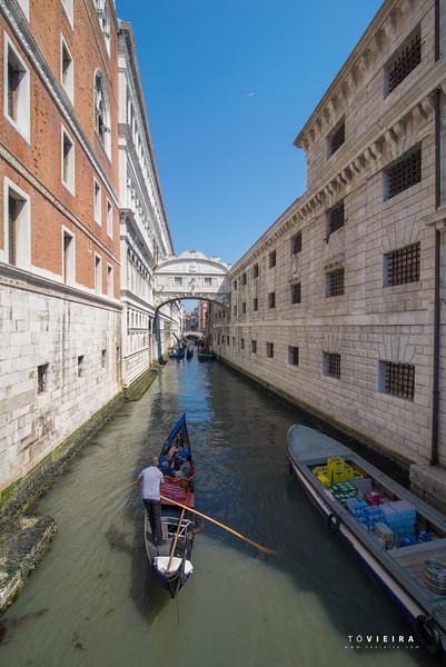 Ponte Dos Suspiros, Veneza, Lagoa de Veneza, Italia