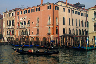 In Venice during the Festa della Befana